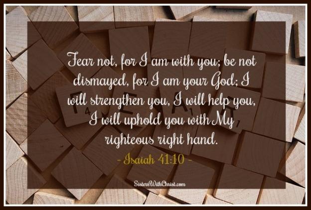 Isaiah 41v10