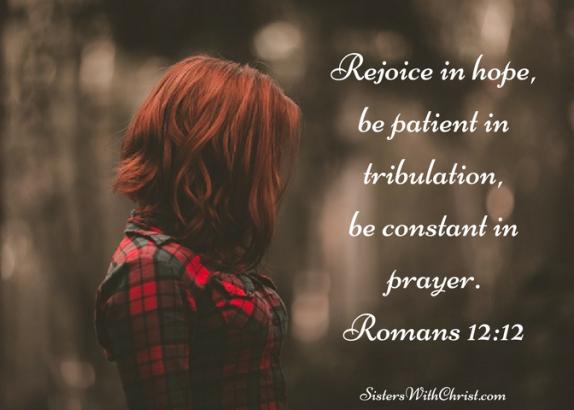 Romans 12v12